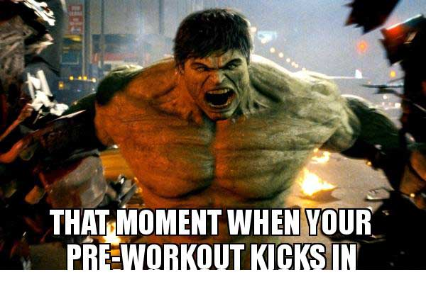 Best Pre workout for Stimulant Junkies meme
