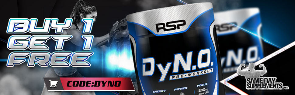 dyno pre workout Deal banner