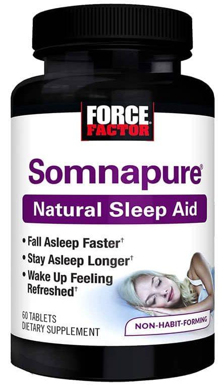 SOMNAPURE how to sleep better