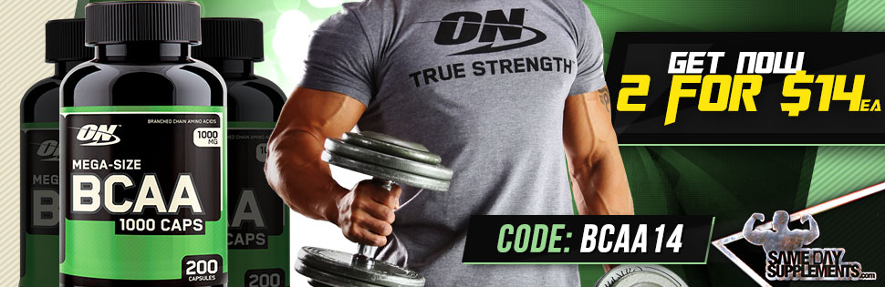 OPTIMUM BCAA Deal banner
