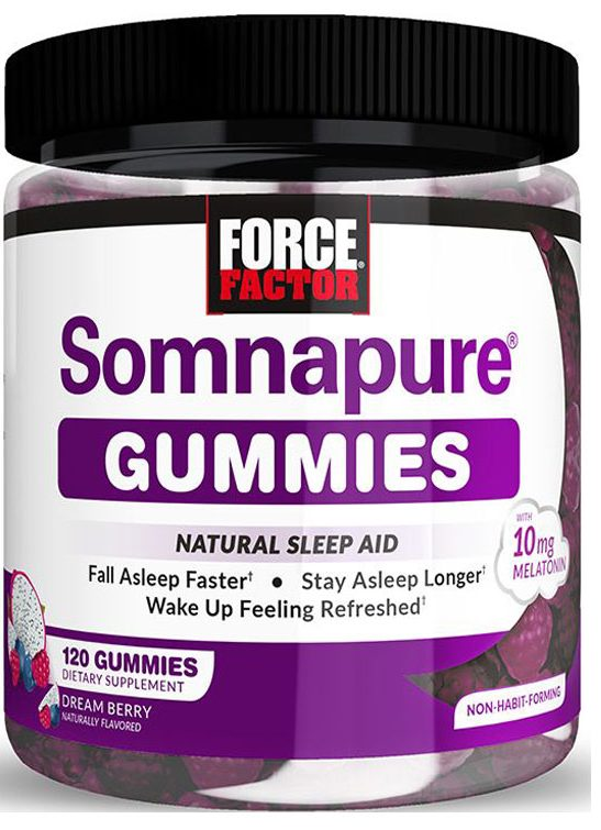SOMNAPURE-GUMMIES how to sleep better