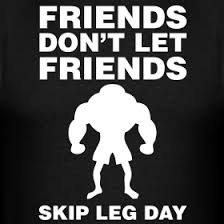 leg day workout meme 5