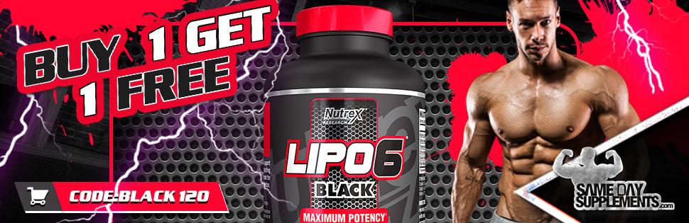 LIPO 6 BLACK 120 DEAL