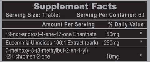 Osta Plex Supplement Facts
