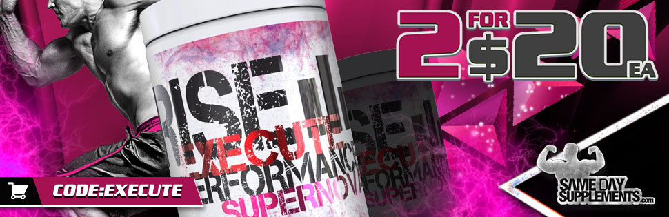 rise performance execute pre workout deal