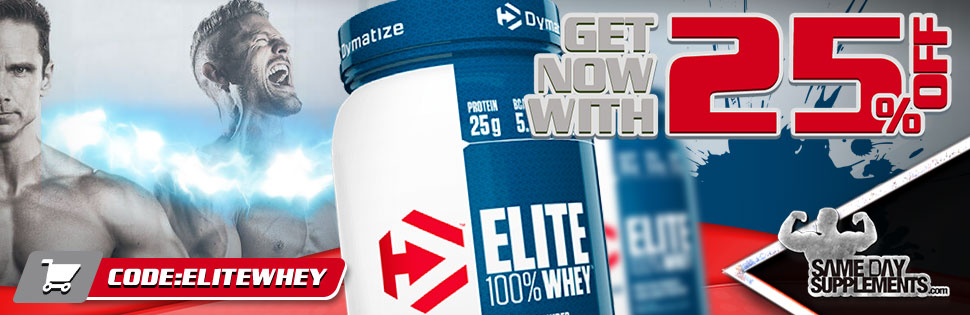 ELITE WHEY PROTEIN DYMATIZE REVIEW