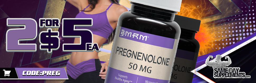 MRM Pregnenolone DOSAGE