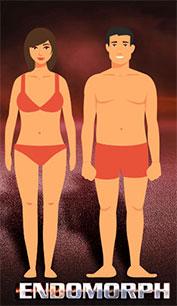 endomorph mesomorph body types