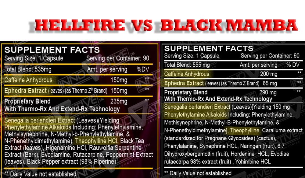 Black mamba vs hellfire