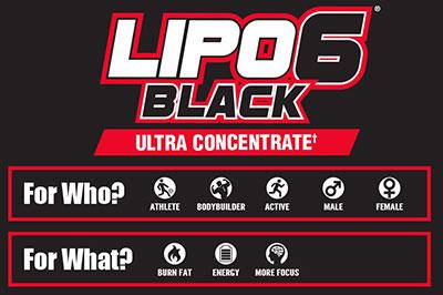 Lipo 6 Black Banner