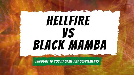 Hellfire vs black mamba banner