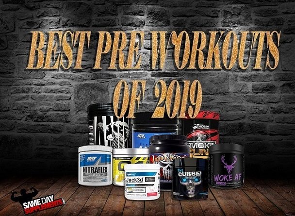 Best Pre Workouts 2019 Banner