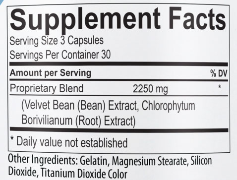 USP Labs Powerfull Supplement Facts