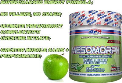 Mesomorph Pre Workout Benefits