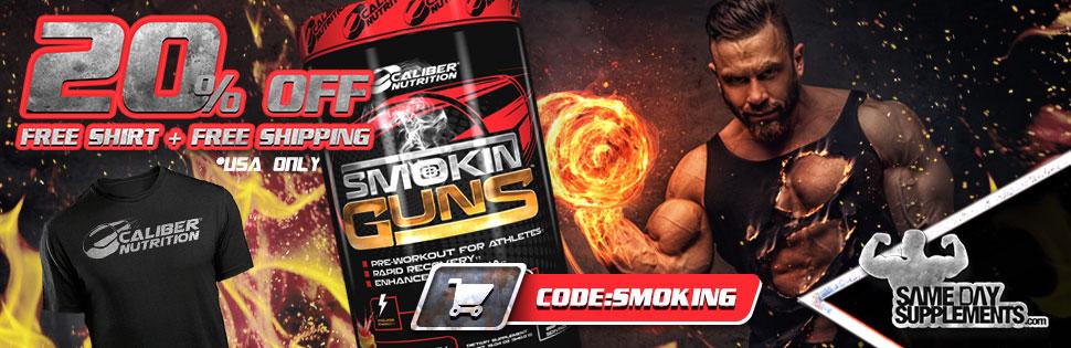 smoking guns pre workout Deal banner