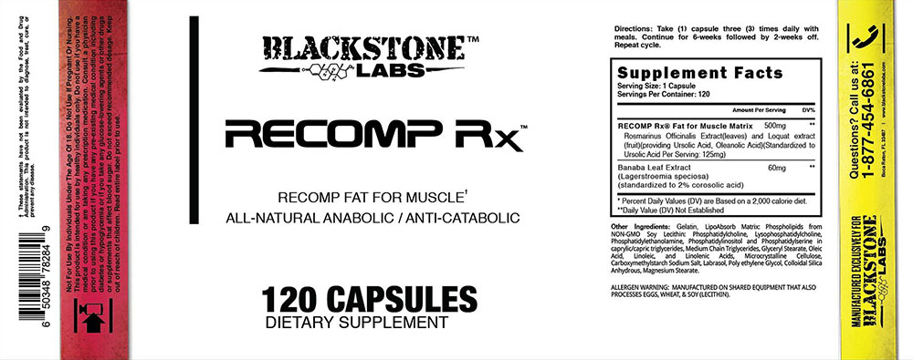 Recomp Rx Label