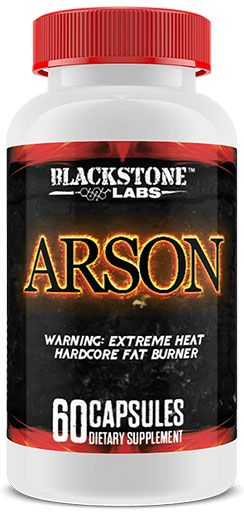 ARSON FAT BURNER blackstone labs weight loss guide