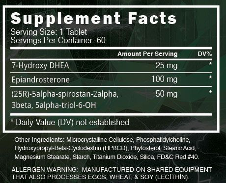 Superstrol 7 Ingredients