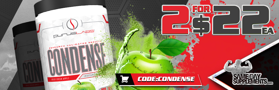 condense pre workout Deal banner