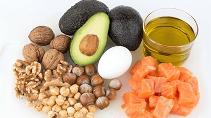 healthy food fats