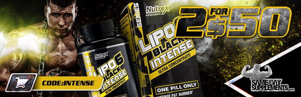 lipo 6 intense Deal banner