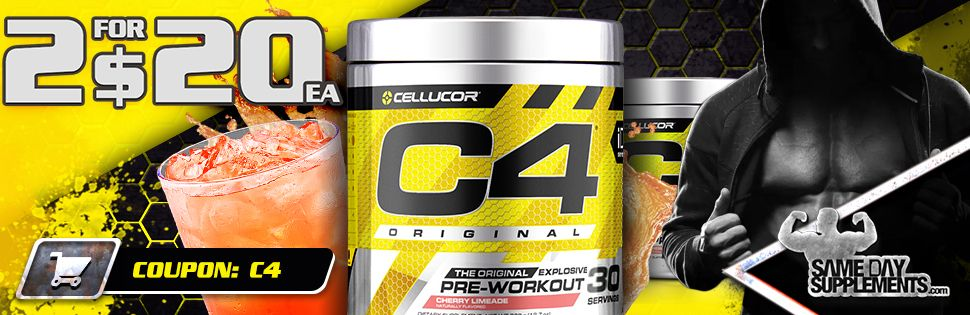 CELLUCOR C4 PROMOTION