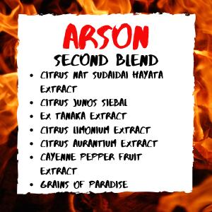 ARSON FAT BURNER SECOND BLEND