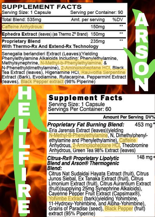 HELLFIRE VS ARSON