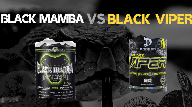 Black Mamba vs black viper banner