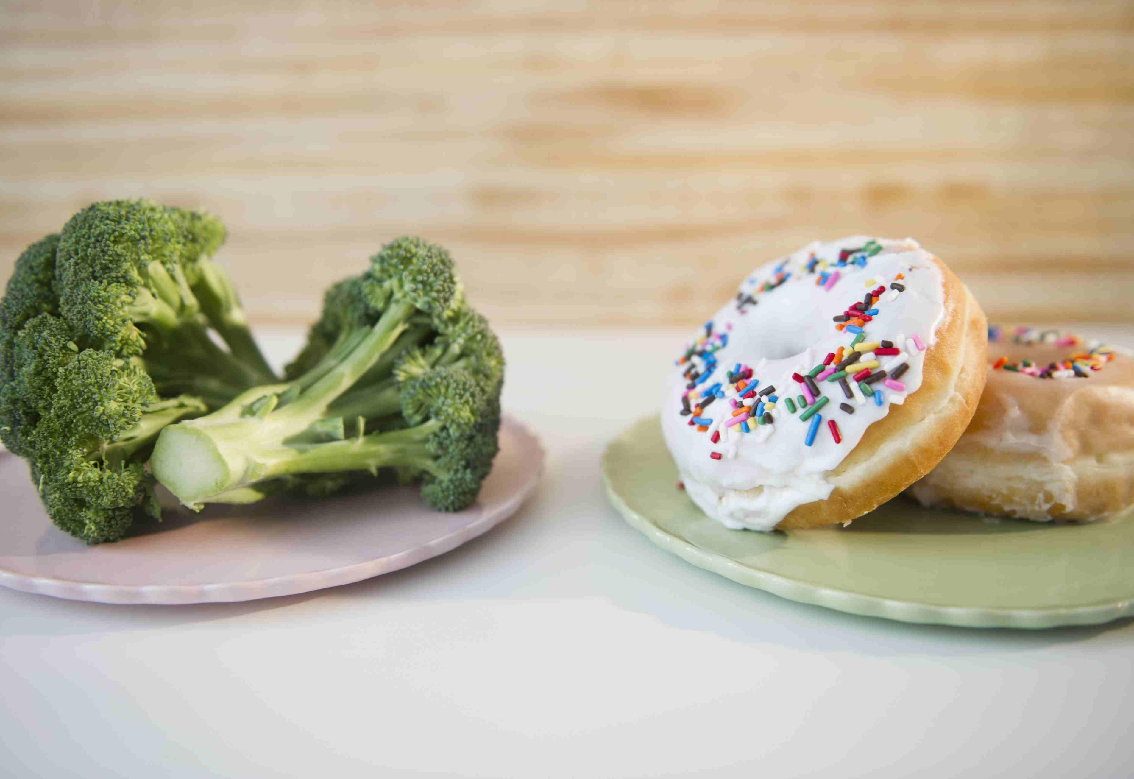 doughnut vs brocoli