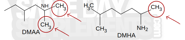 DMAA structure