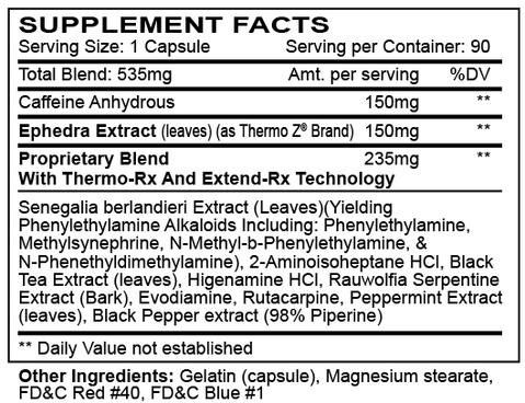 Hellfire Ingredients