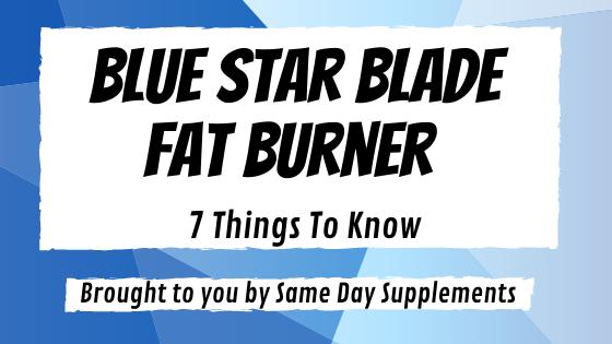 Blue Star Blade Banner