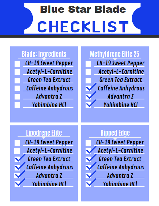 blade check list