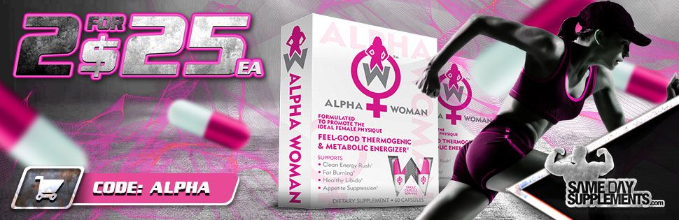 ALPHA WOMAN fat burner deal