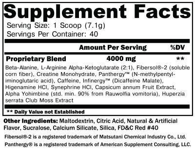 Noxipro Ingredients