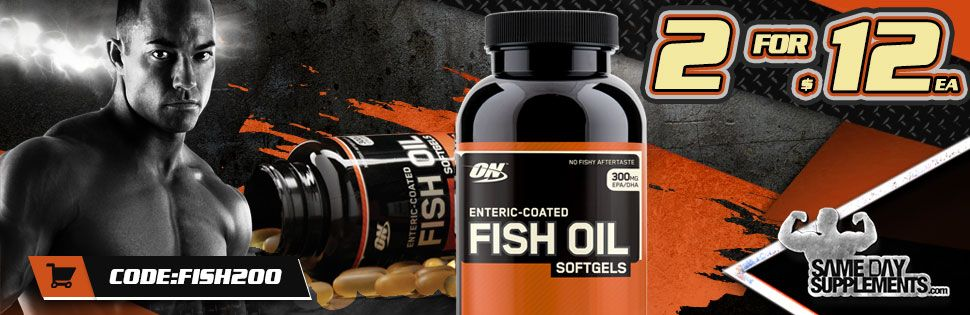 FISH OIL Deal banner
