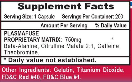 Plasmagen Nitrate Ingredients