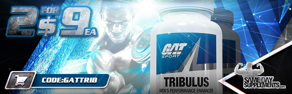 GAT TRIBULUS labs Deal banner