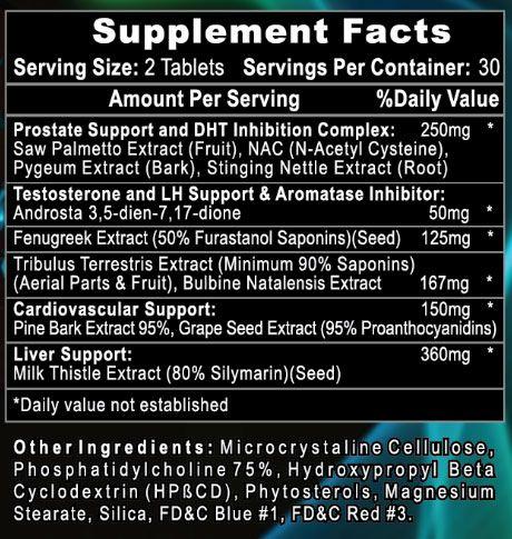 HellRaiser PCT Supplement Facts