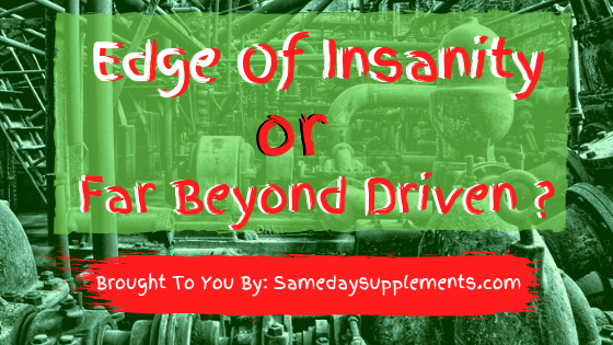 far beyond driven edge of insanity banner