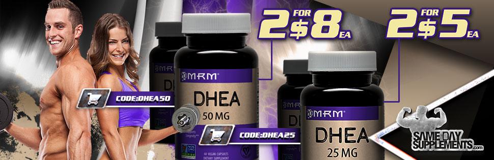 MRM DHEA Deal banner