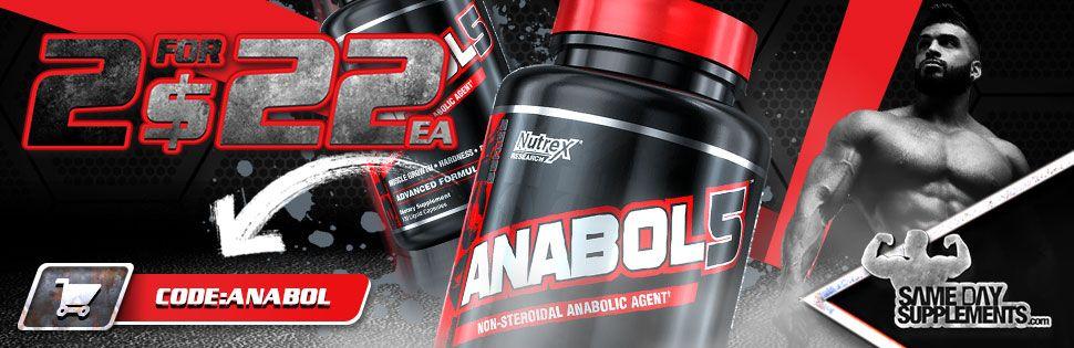 ANABOL 5 Deal banner