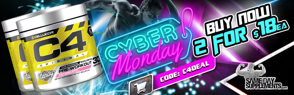 C4 PRE WORKOUT CYBER MONDAY
