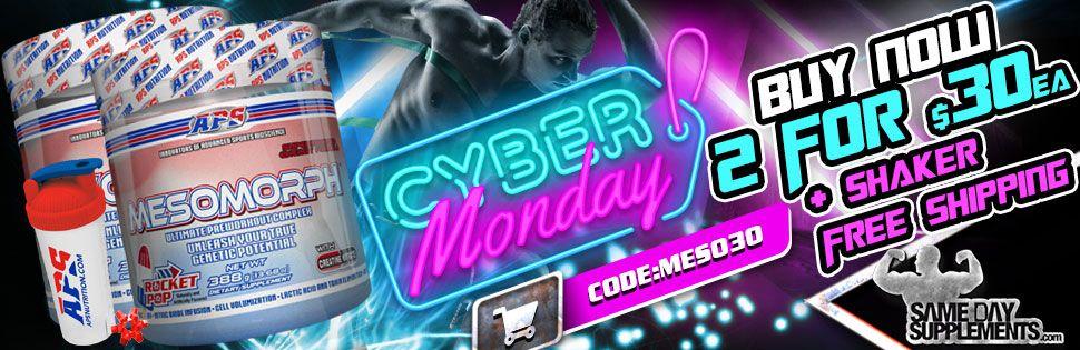 mesomorph cyber monday