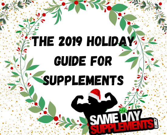 The 2019 Holiday Guide For Supplements banner