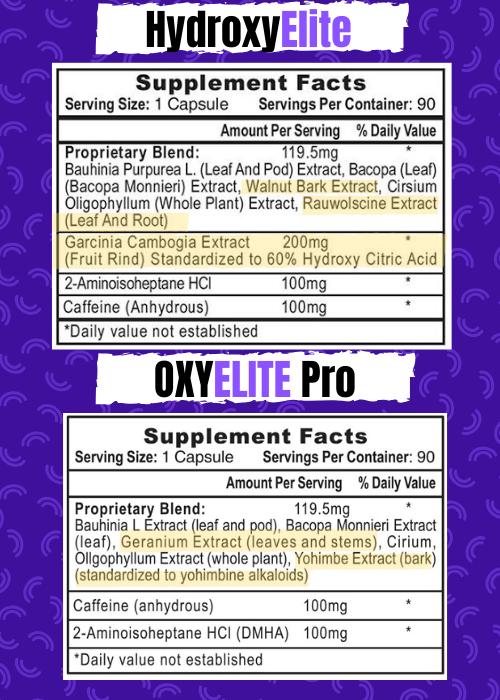 Oxyelite+Pro+vs+Hydroxyelite