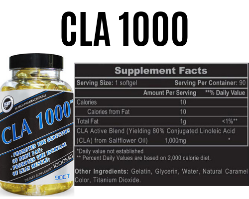 cla product + Label