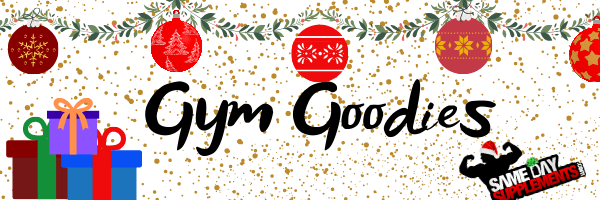 Gym goodies banner