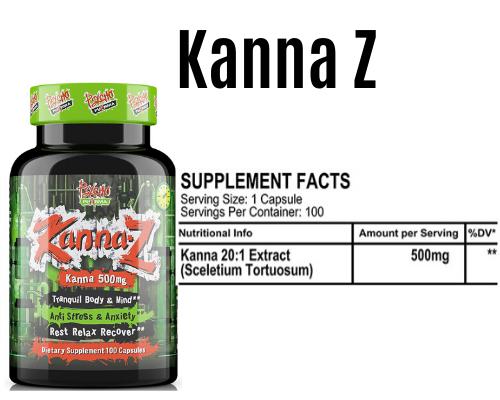 kanna z product + Label